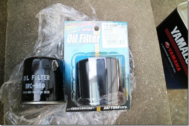 MT-07 オイルフィルター