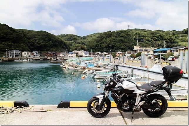 鷹島、阿翁漁港とバイクツーリング