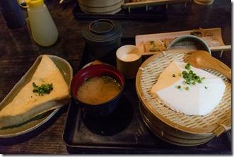 岡本とうふ店のとうふ定食