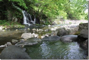 日田周辺をツーリング,琴平温泉の露天