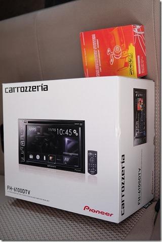 パイオニア・CARROZZERIA・CARROZZERIA・FH-6100DTV