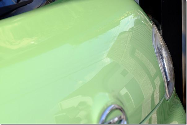 タント、AZ、ガラス系コーティング剤を施工