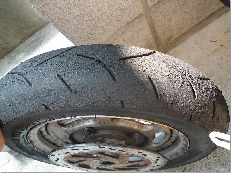 APE100タイヤ交換(組み込み)、タイヤ交換作業10