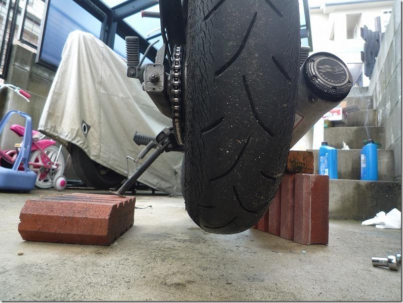 APEで2年使用したBT-601SSタイヤ