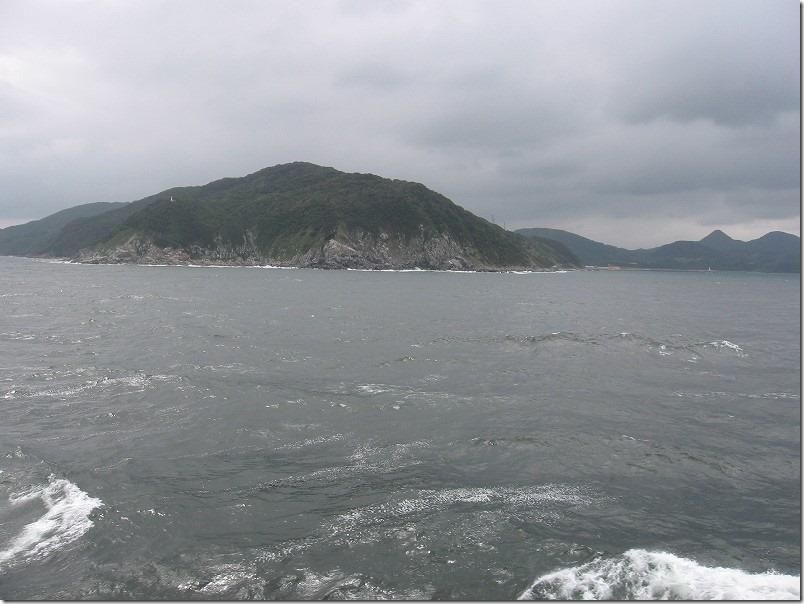 壱岐ツーリング、博多港からフェリー乗船、糸島