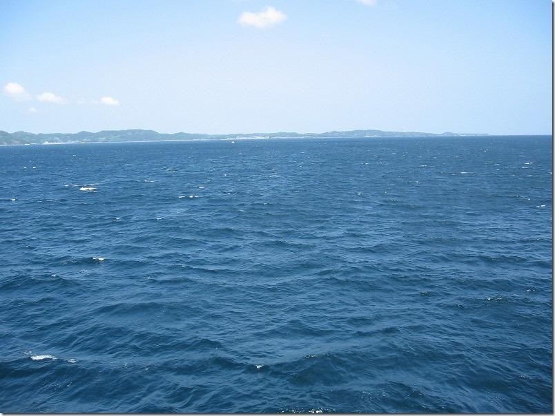 壱岐ツーリング、博多港からフェリー乗船、壱岐