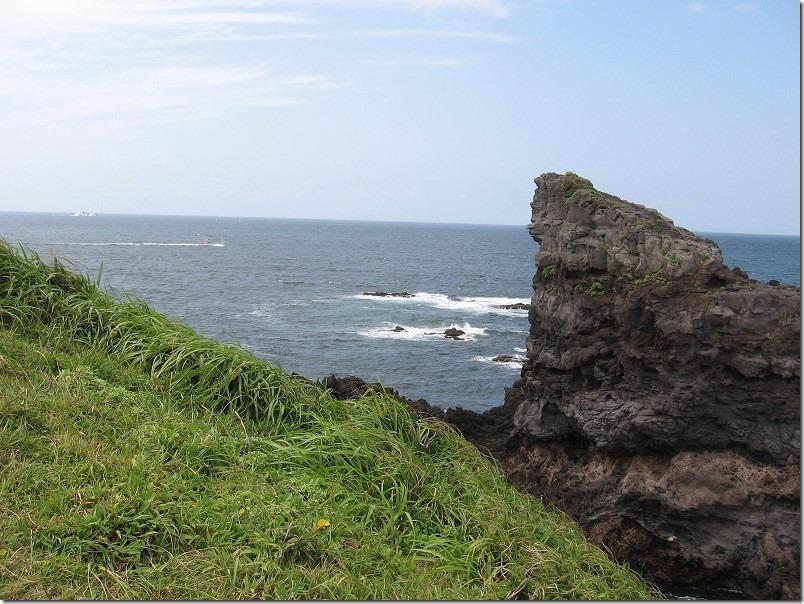 壱岐・牧崎のゴリラ岩&鬼の足跡・バイクツーリング