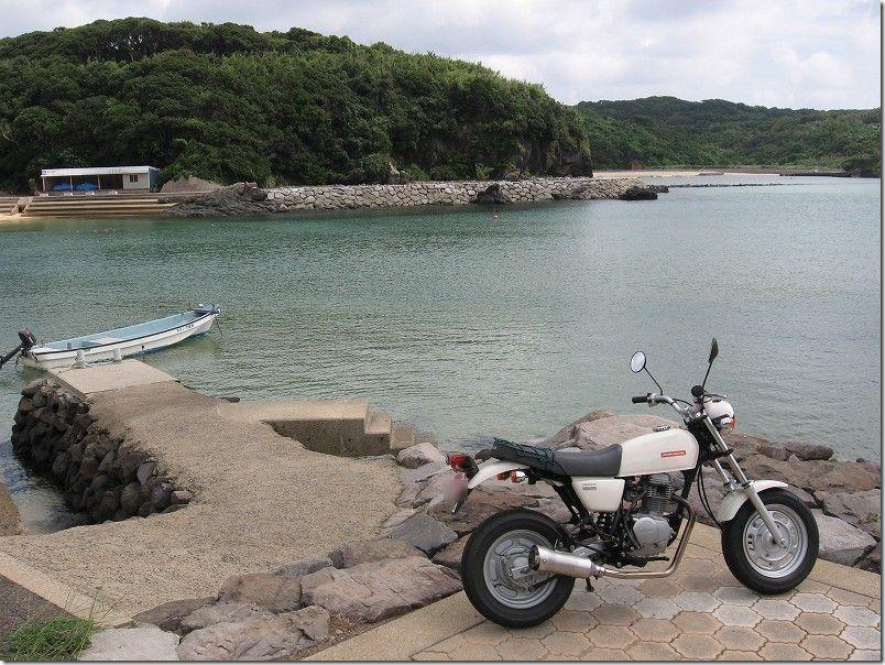 壱岐・バイクツーリング、ツインズビーチ