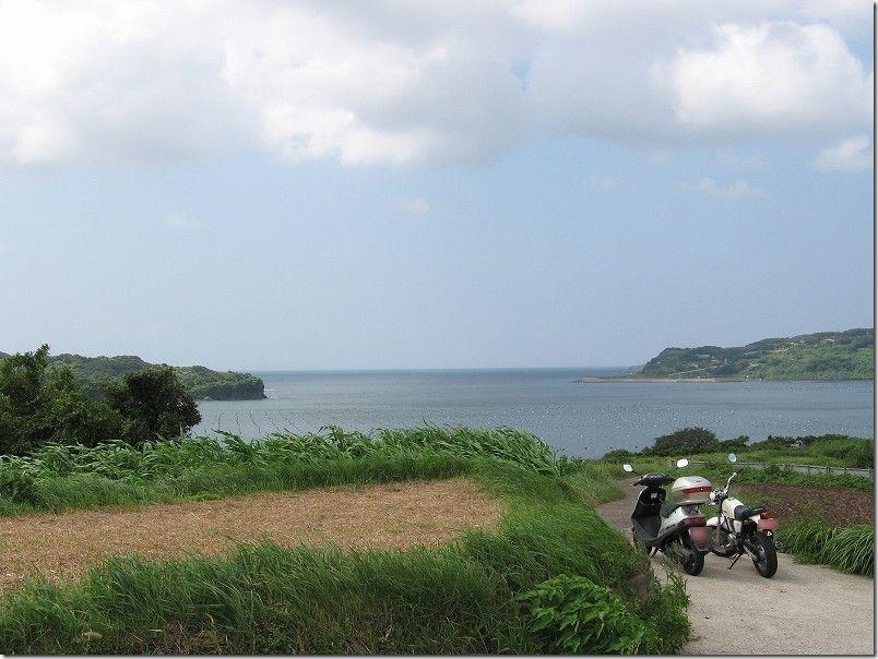 壱岐・バイクツーリング、海