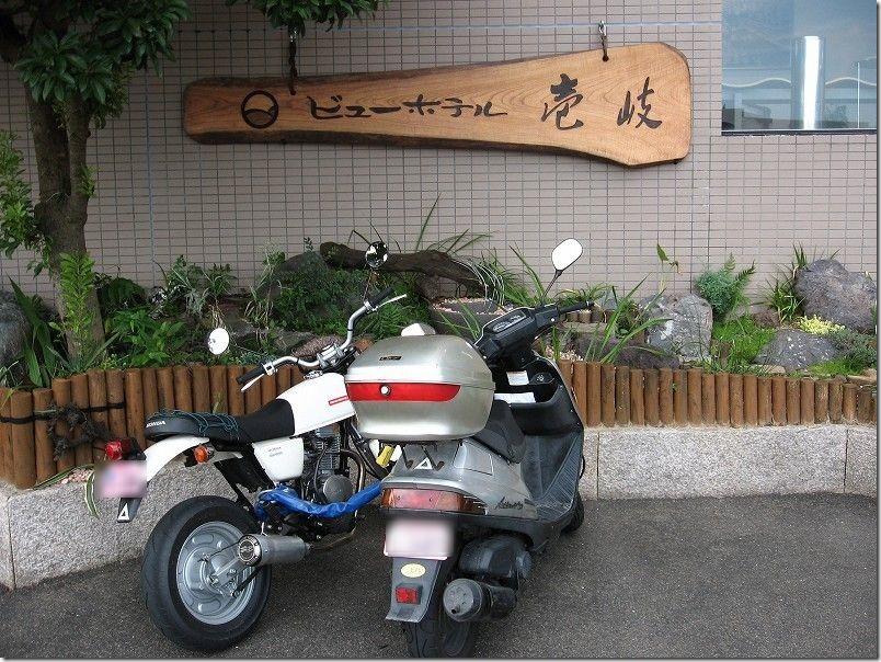 ビューホテル壱岐、バイクツーリング