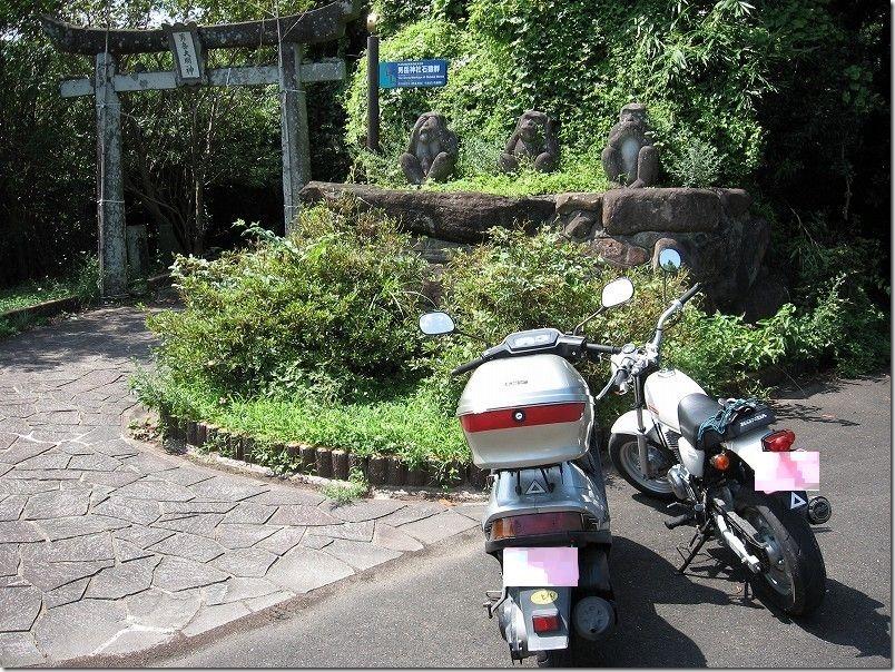 壱岐ツーリング男岳神社