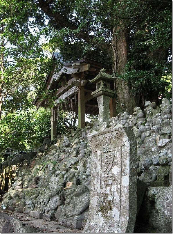 壱岐ツーリング男岳神社、さる