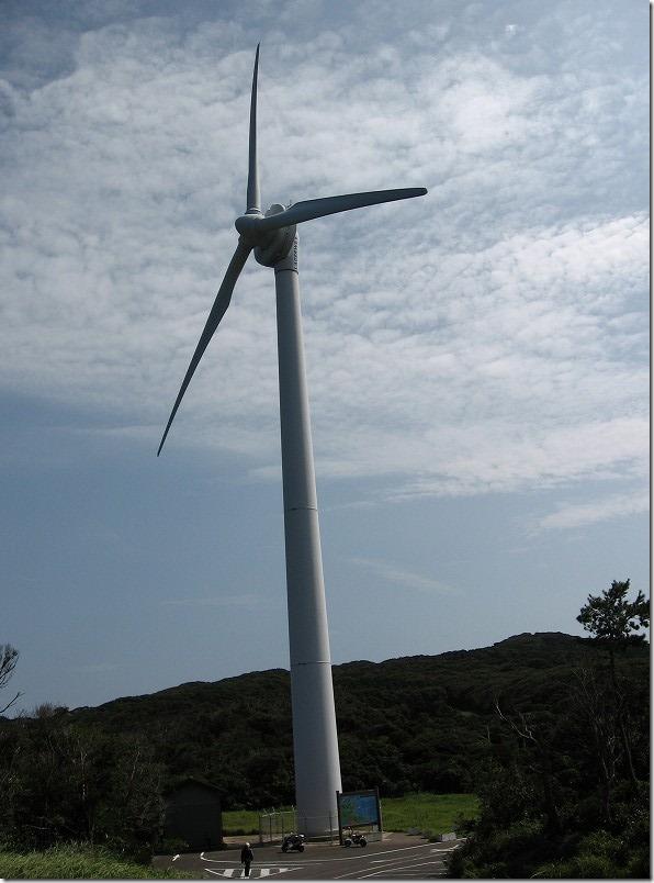 壱岐ツーリング、芦辺風力発電所