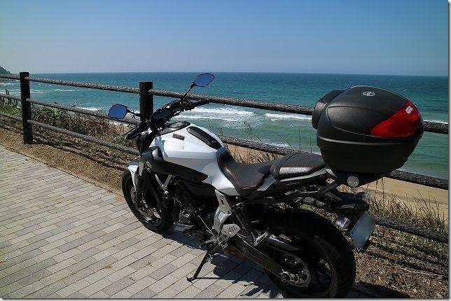 糸島でバイクと写真 プチツーリング