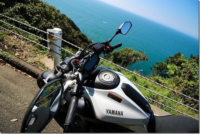 糸島 バイクと糸島の海