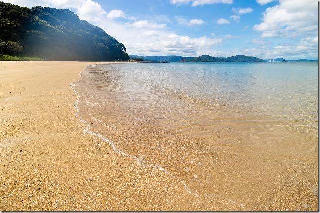 福島、初崎海水浴場