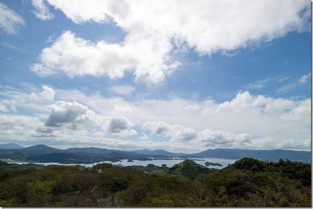 福島、大山展望台
