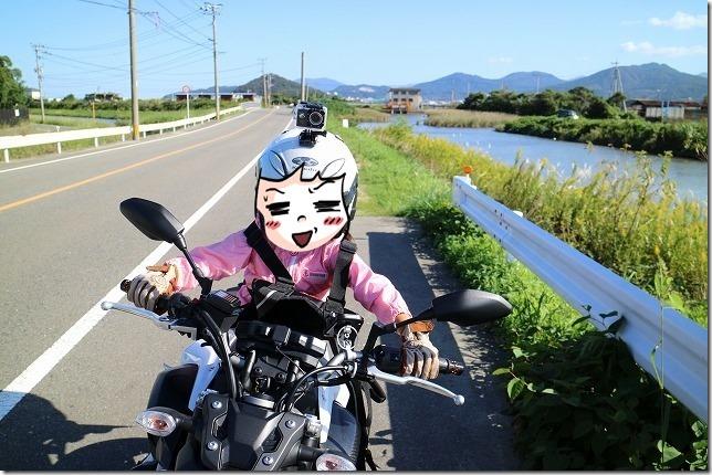 バイクへのアクションカメラを取り付け場所