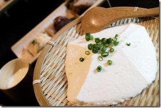 岡本とうふ店のざる豆腐
