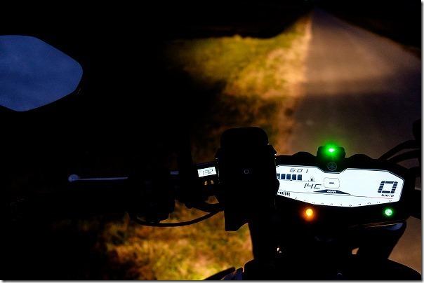 MT-07へHG-120、ホットグリップの視認性、インプレ