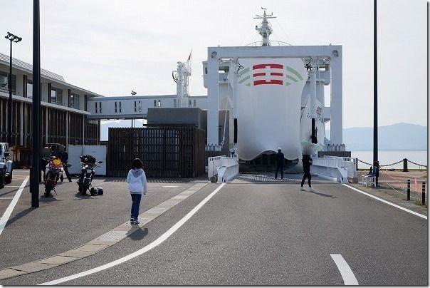 壱岐ツーリング,唐津東からフェリー乗船
