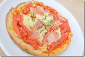 壱岐、レストランしおかぜ、ピザ