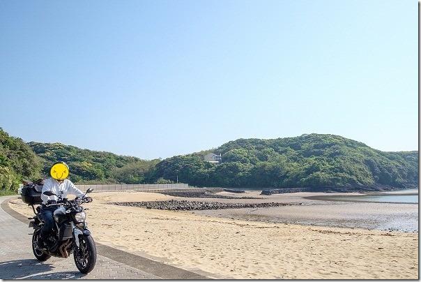 壱岐日帰りタンデムツーリング、ツインビーチ