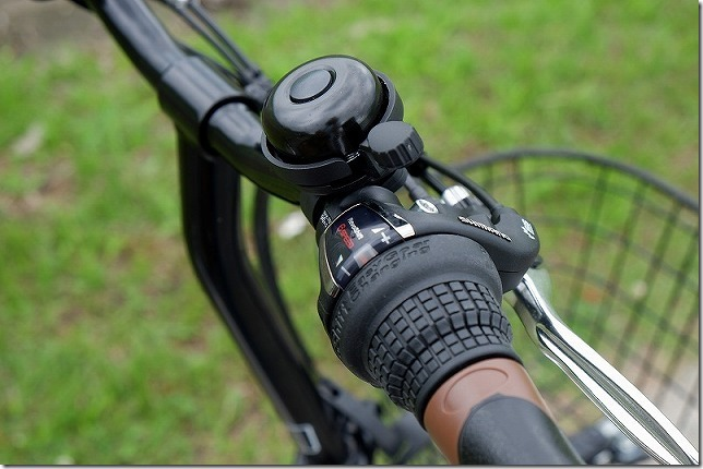 PELTECH(ペルテック) 折り畳み電動アシスト自転車のグリップシフト