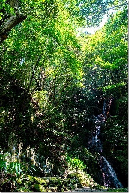 滝の観音の綺麗な景色(佐賀県唐津市)