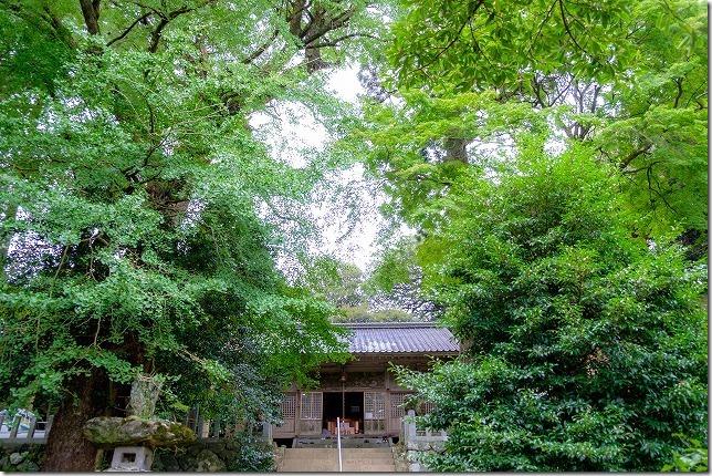 糸島、雷神社へ参拝