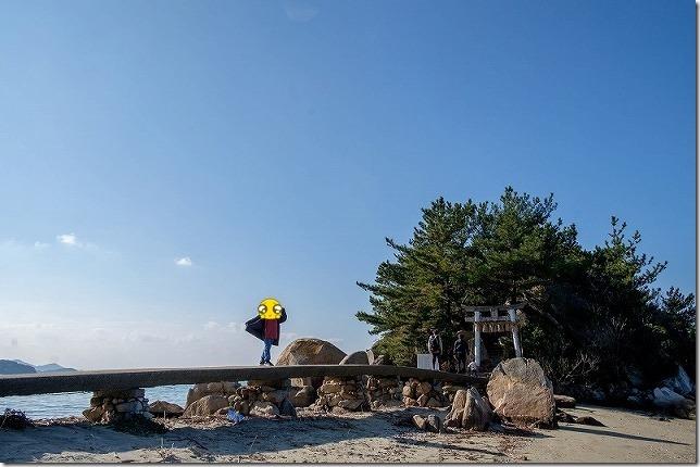 糸島・箱島神社へ参拝