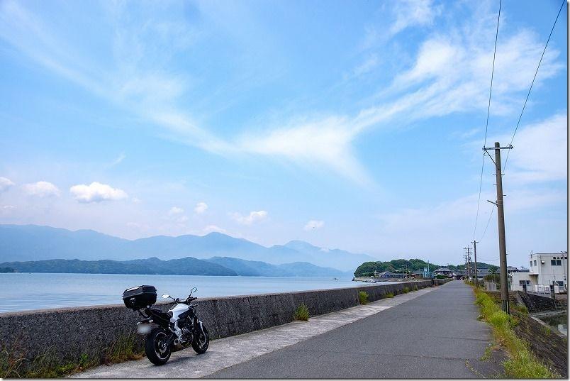 糸島周回の散策ツーリング、船越方面