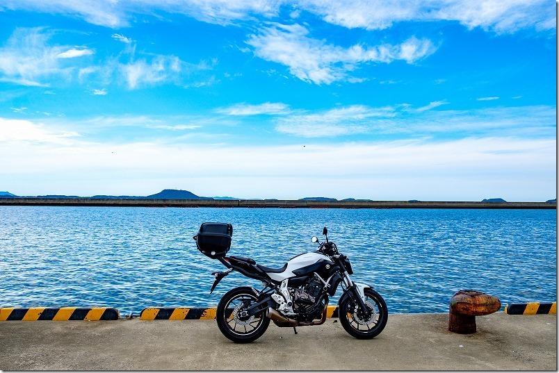 松浦市周辺を散策ツーリング(調川港)
