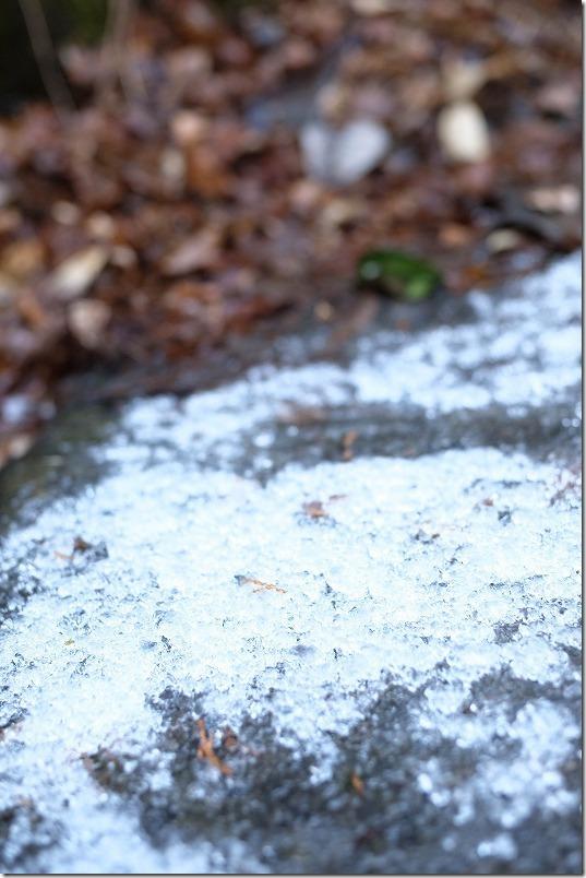 小国,鍋ヶ滝の氷