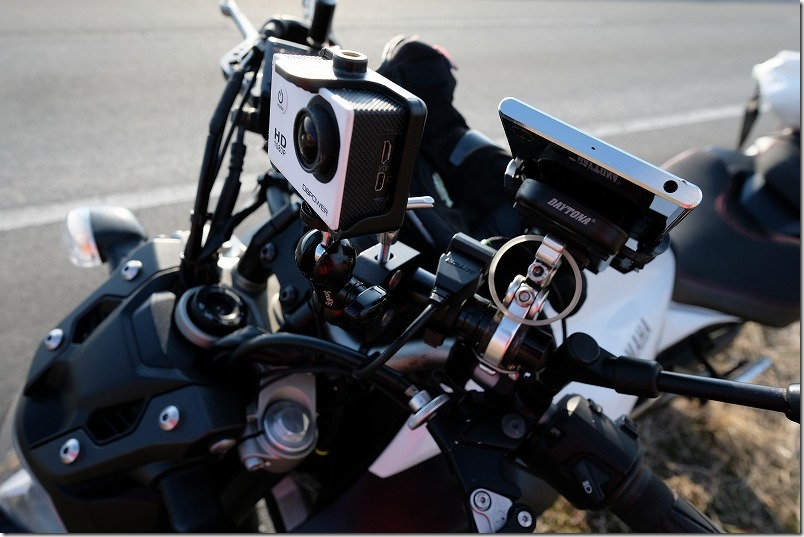 DAYTONAバイク専用USB電源(1ポート)2.1Aの充電速度