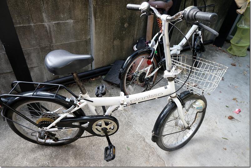 20インチの折りたたみ自転車のタイヤ交換