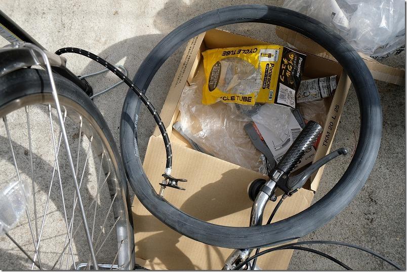 自転車のフロントタイヤ交換手順14