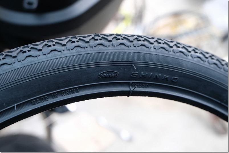 自転車のフロントタイヤ交換手順15