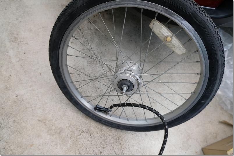 自転車のフロントタイヤ交換手順20