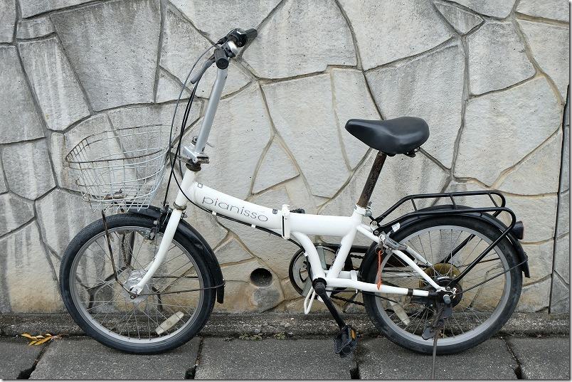 自転車のフロントタイヤ交換完了