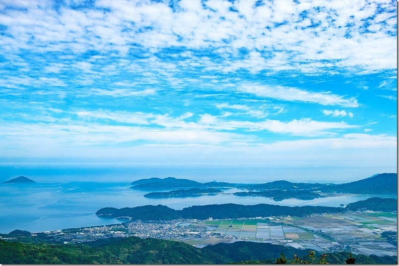 糸島「いきさん展望台」