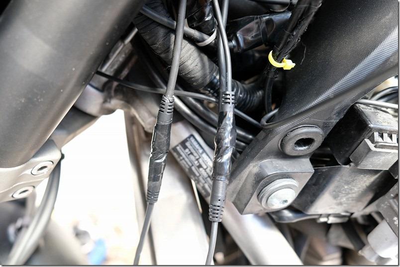 MT-07にドライブレコーダーを取り付け(電源・GPS取り付け)