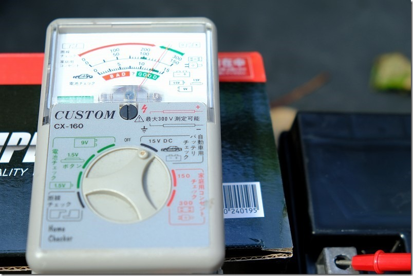 スーパーナットSTZ10Sの初期電圧