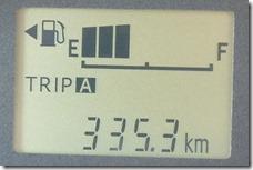 タントインプレッション走行距離
