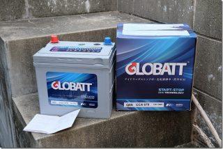 プレマシー バッテリー交換(Q-85 GLOBATT)