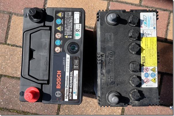 タントのバッテリー交換手順