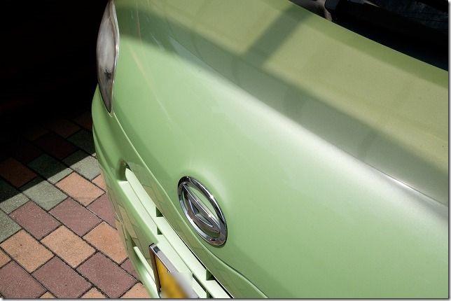 CCIスマートミスト(SMART MIST)ガラス系コーティング剤を使用レビュー(淡色)