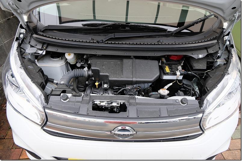 NISSAN デイズ(DBA-B21W)のエンジン