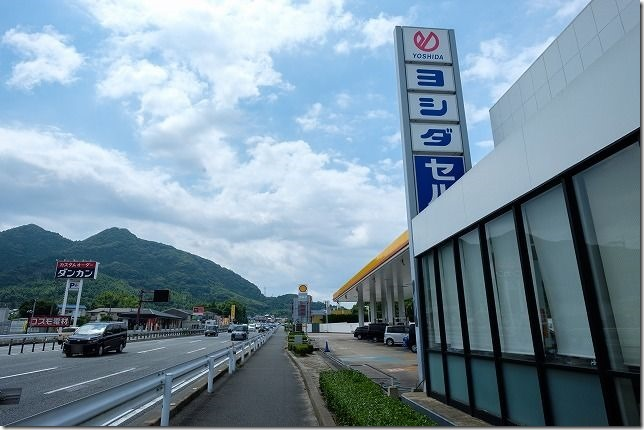 福岡市東区,吉田石油で持ち込みタイヤ交換